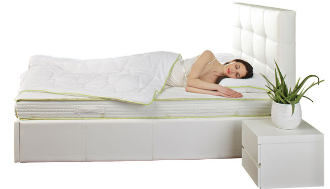 saltea de pat cu Aloe Vera