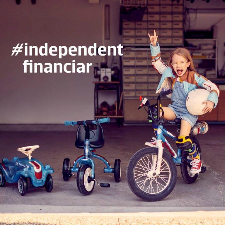 Invata cum poti fi Independent Financiar, la orice varsta!