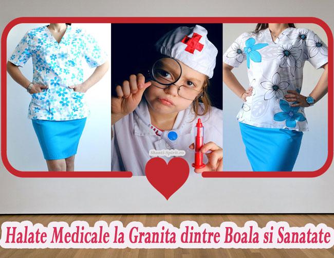 Halate Medicale la Granita <br>dintre Boala si Sanatate