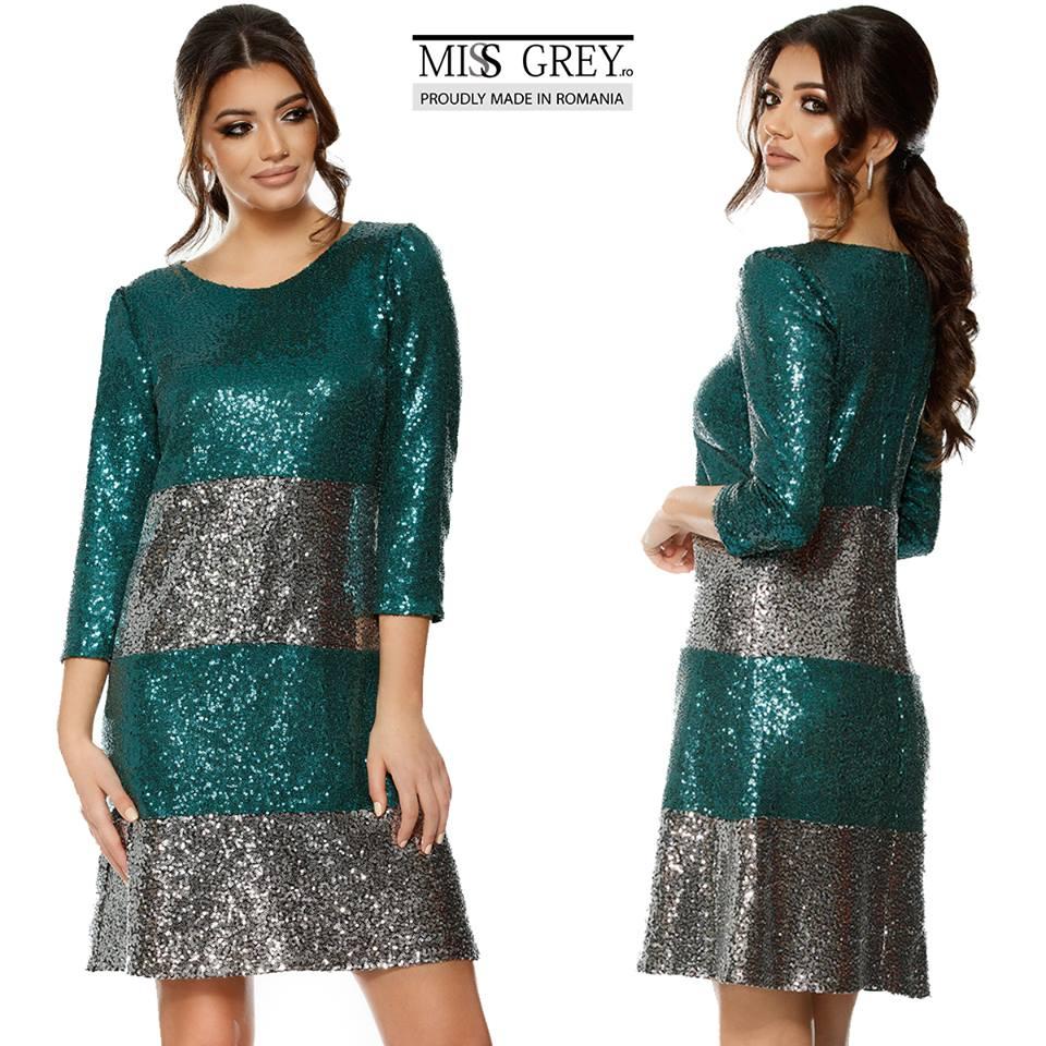 Rochie tabita verde