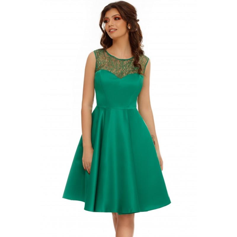 rochie izara verde